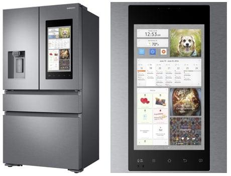 Samsung smart fridge Family Hub 2.0
