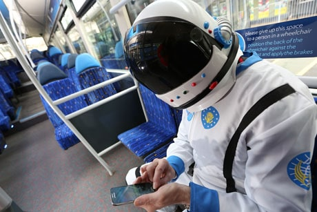 Keighley Bus Company Shuttle service mobile ticketing pilot