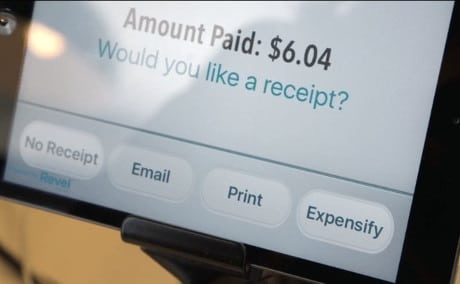 US airport stores to automatically file expense reports for