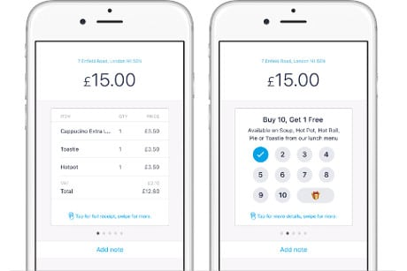 uk restaurant chains test digital mobile banking receipts tied to