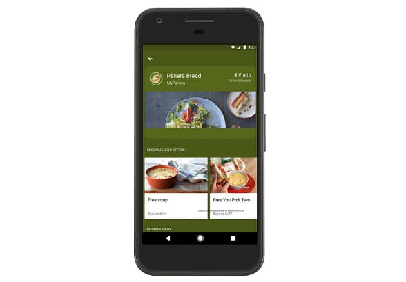 Android Pay Smart Tap
