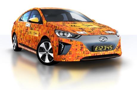 Hyundai Contactless Car
