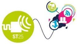 ST25DV NFC RFID dynamic tag IC logo