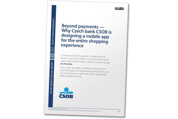 CSOB Beyond payments