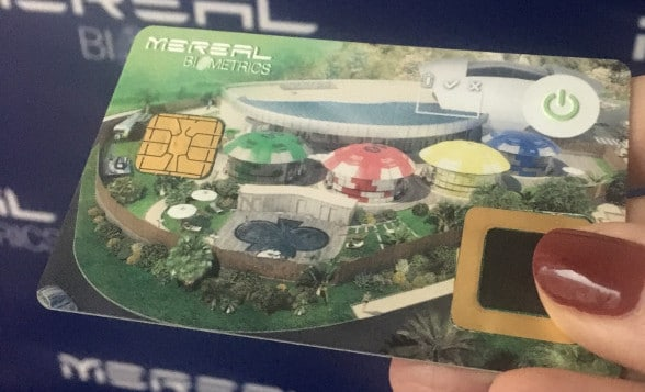 MeReal biometric card