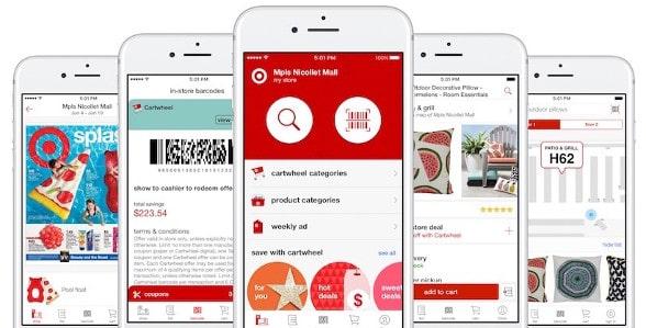 Target app integration