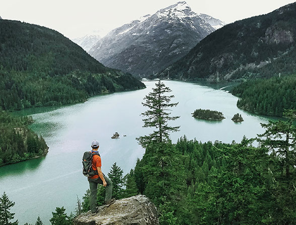 Diablo Lake in the North Cascades National Park // Pic: Kevin Lu