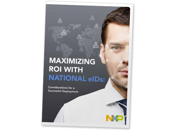 'Maximizing ROI with national eIDs: Considerations for a successful deployment' cover shot