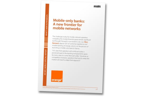 Covershot: 'Mobile-only banks: A new frontier for mobile networks'