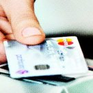 Paying with a contactless card
