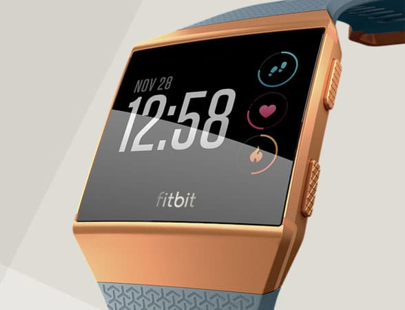 The Fitbit Ionic smartwatch