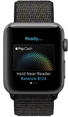 Apple Watch Series 3 supports Apple Pay