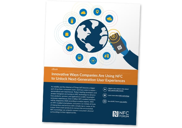 Cover: 'Innovative ways companies are using NFC to unlock next-generation user experiences'