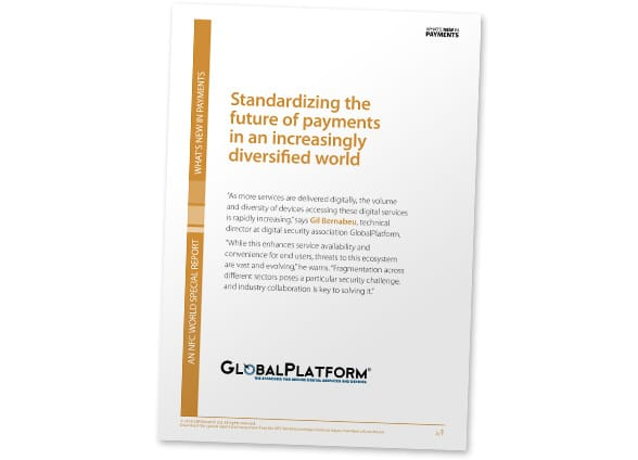Cover: Standardizing the future of payments in an increasingly diversified world