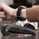Montblanc's Twin smart strap offers an Oled display and contactless payments built into its clasp