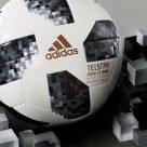 An official World Cup match ball from Adidas