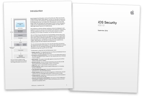 Apple's iOS 12 Security guide