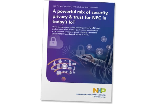 A brochure explaining the NTAG 424 DNA's features, benefits and suggested applications is now available in the NFC World Knowledge Centre