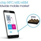 STMicroelectronics' ST54J combines an NFC controller, secure element and eSIM on a single chip