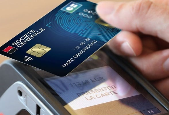 Societe Generale is testing 'no limit' contactless transactions with on-card biometric authentication