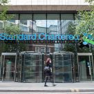 Standard Chartered's head office in London, UK