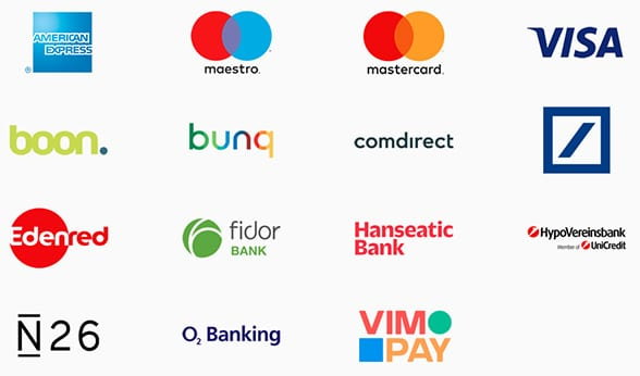 Banks that support Apple Pay in Germany at launch