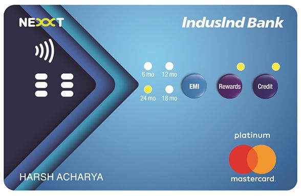 IndusInd Bank's Nexxt interactive payment card