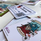 Quiz players can tap or scan special plastic cards to donate to the British Legion