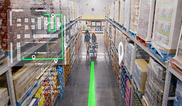Smart shopping lists and Bluetooth beacons will help guide shoppers around the store