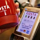 Costa's £15 reusable coffee cup has a bPay contactless payment chip built into its base