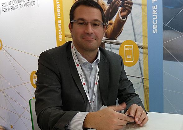 NXP's Sebastien Clamagirand at Trustech