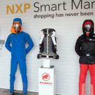NXP's Smart Market retail technology exhibit