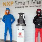NXP's Smart Market retail technology exhibit