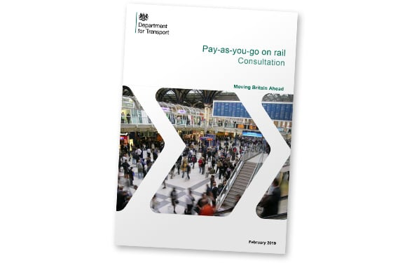 UK pay-as-you-go rail consultation document covershot