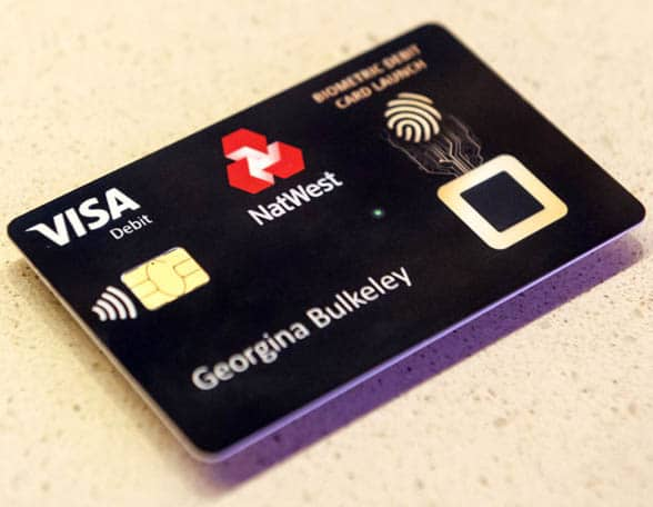 NatWest contactless bank card