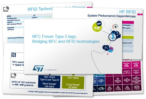 Slides from STMicroelectronics' NFC Type 5 webinar
