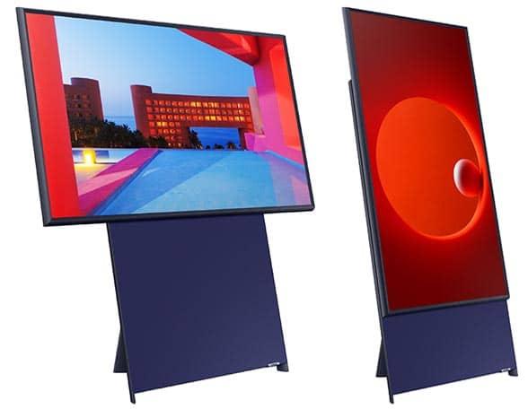 2 TV screens