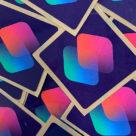 Apple's Siri Shortcuts NFC stickers