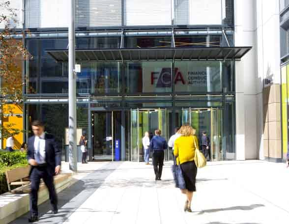 Entrance to FCA building