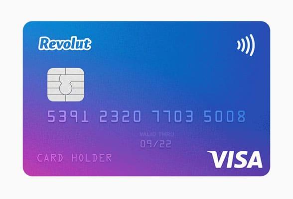 Revolut contactless visa card
