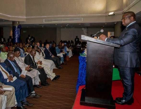 President Dr Julius Maada Bio