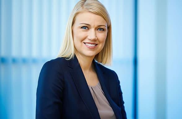 Arion Bank's MD of retail banking, Iða Brá Benediktsdóttir
