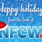 Happy holidays from the team at NFCW