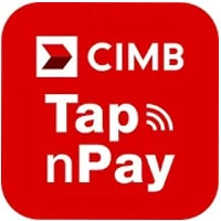 CIMB Tap n Pay logo