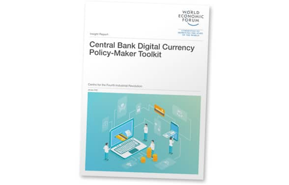 Front page of World Economic Forum central bank digital currency evaluation toolkit