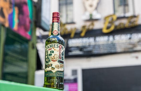 Jameson Irish Whiskey limited edition St Patrick's Day NFC bottle