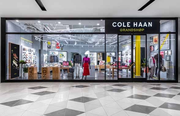Cole Haan store using NFC tags