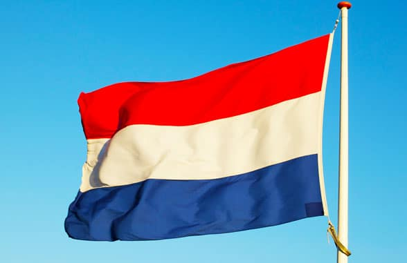 Netherlands flag; credit holland.com