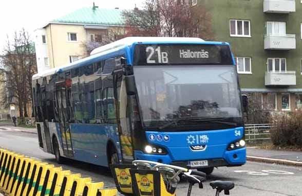 Helsinki Regional Transport bus contactless pilot