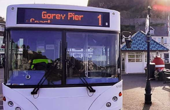 LibertyBus, Jersey, Channel Islands, goes contactless